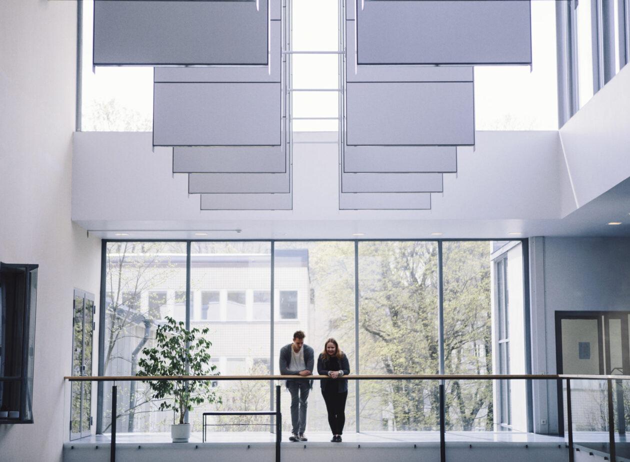 Bild från Axelia-byggnaden