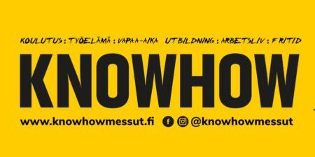 Logo för knowhowmässa