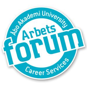 Arbetsforums logo på engelska