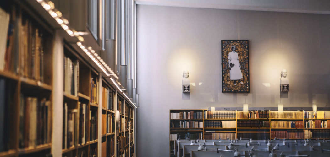 Konstverk i biblioteket