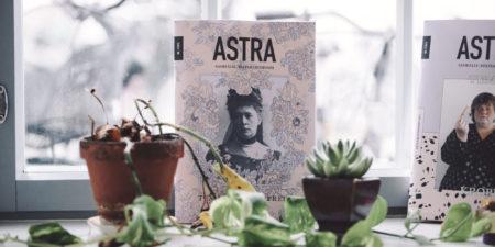 Pärmbild på tidskriften Astra.