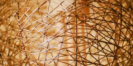 Konst av koppartråd