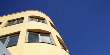 ASA huset mot blå himmel