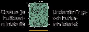 Undervisnings- och kulturministeriets logo, Finlands lejon