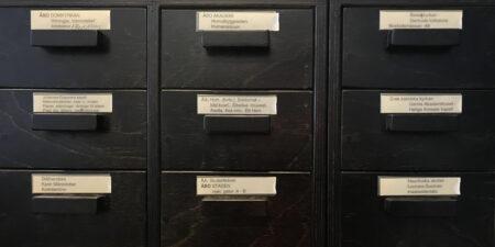 Arkivlådor