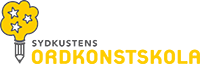Logo för sydkustens ordkonstskola