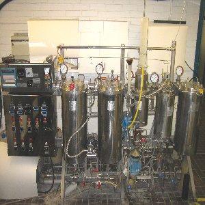 High pressure circulation digester