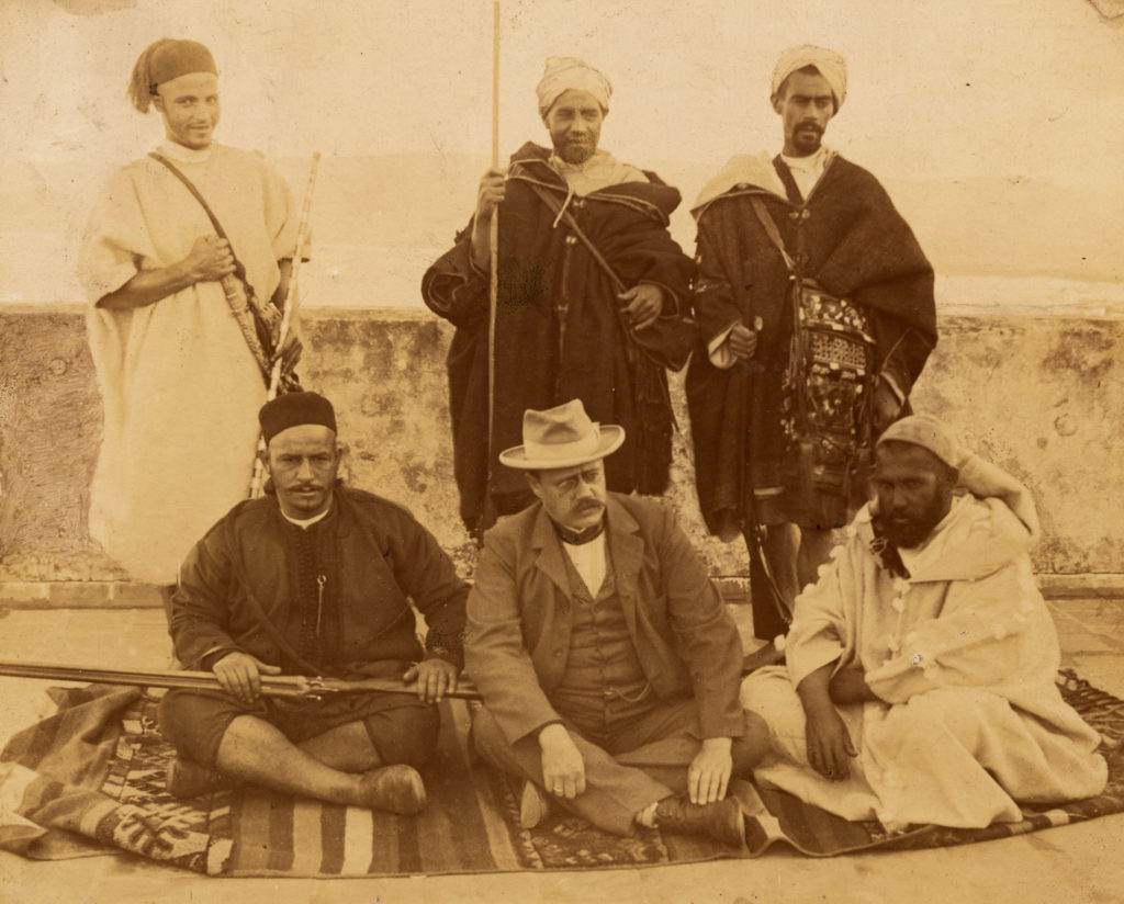 Grupporträtt från Marocko