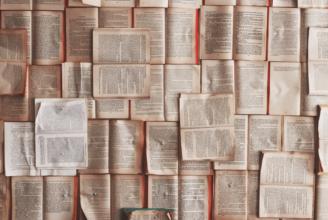 Bokbasar på biblioteket