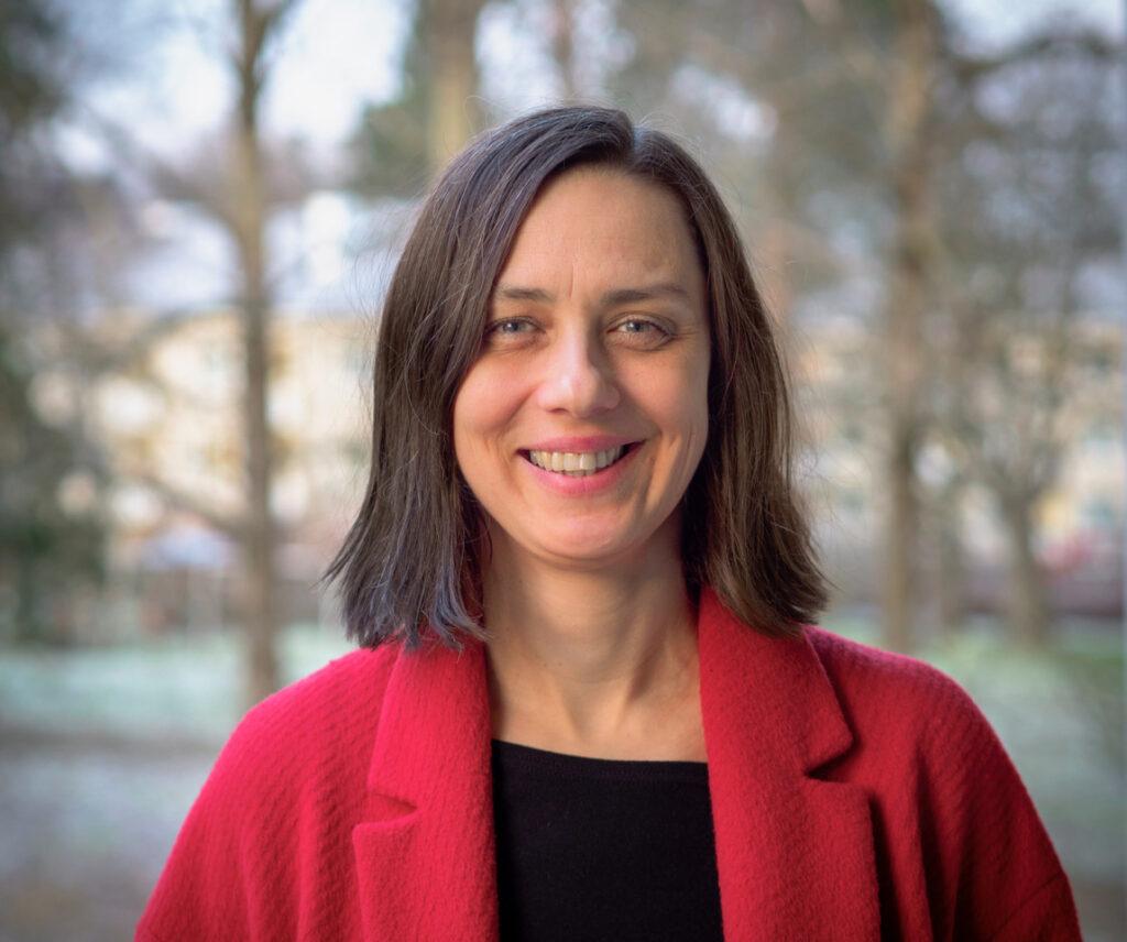 Porträttfoto på Magdalena Kmak.