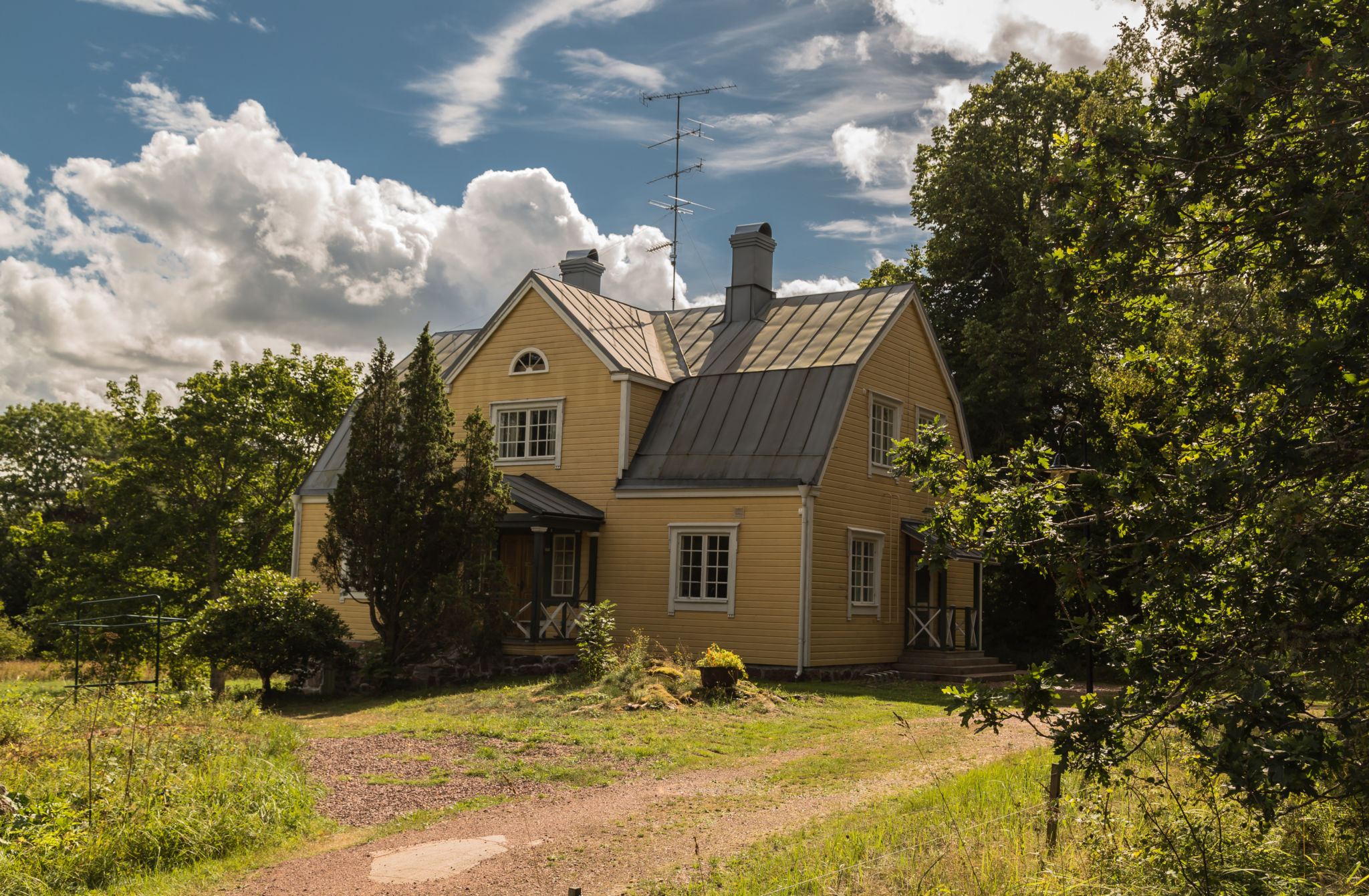 The yellow house at Husö biological station