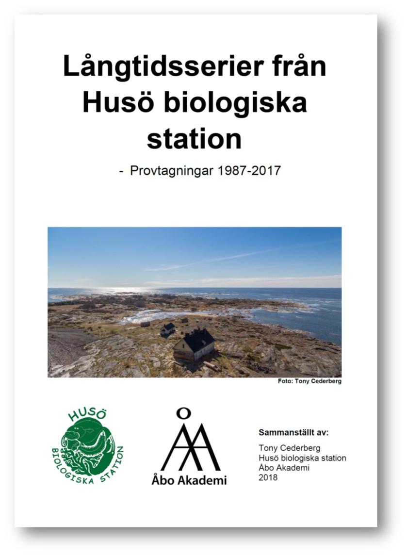 Pärbild till rapporten Långtidsserier från Husö biologiska station