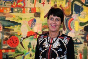 Bild av Birgitta Pontin, rektor i Åshöjdens grundskola
