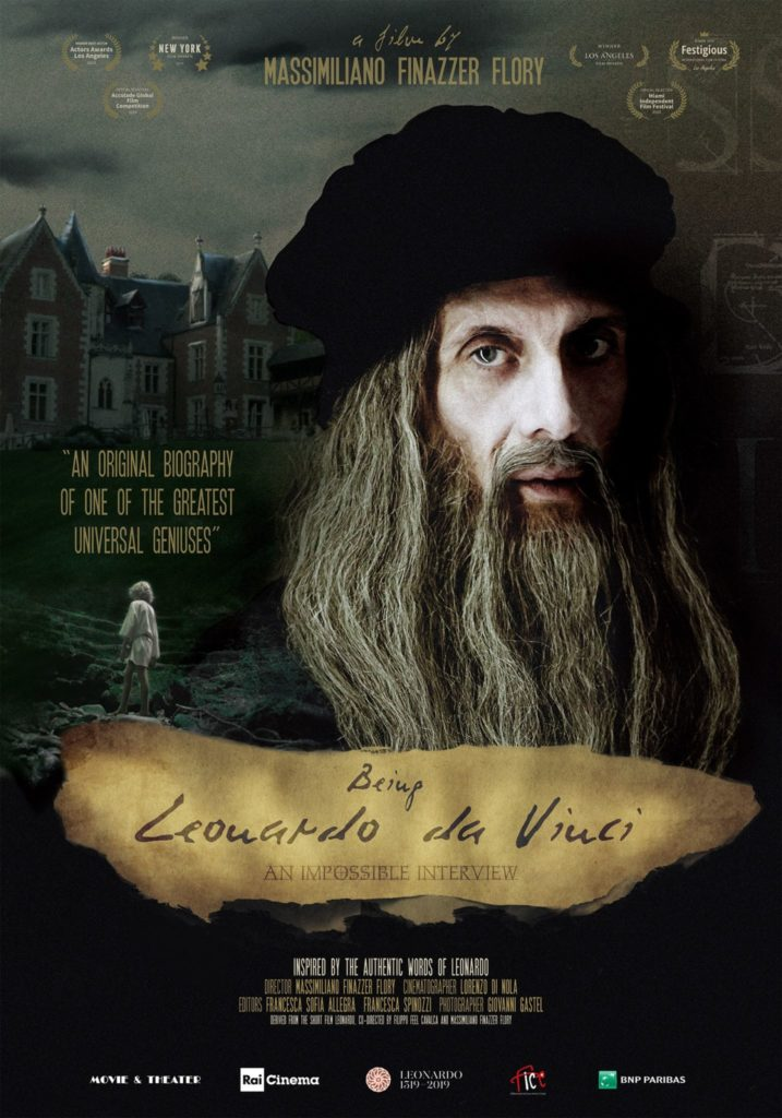 Being Leonardo da Vinci filmposter.