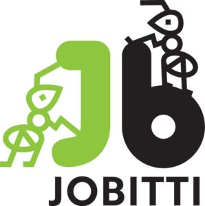 Jobitti logo with text