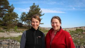Henna Rinne och Sonja Salovius-Lauren