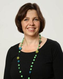 Porträttfoto på Siv Sandberg.