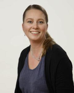 Porträttbild på Annika Meinander.