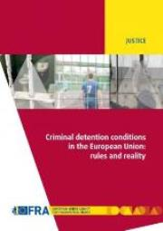 Criminal detention in the EU report cover