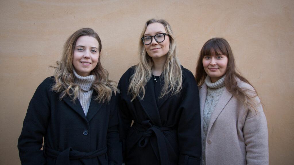 Ellen Wilenius, Catharina Walldén, Julia Nummenmaa