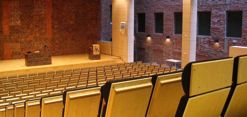Föreläsningsutrymme i Academill, Vasa
