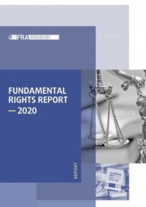 FRA fundamental rights report 2020, cover