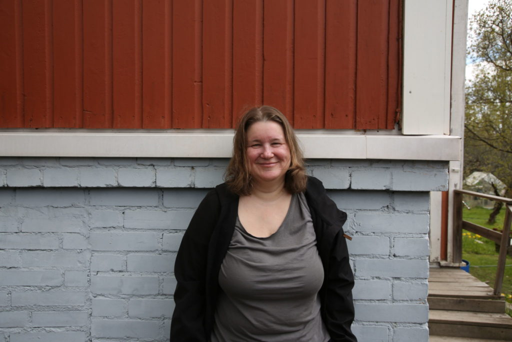 Porträttfoto på Camilla Kronqvist.