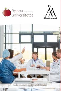 Länk till kursbroschyren för ledarskap inom social- och hälsovård