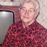 Porträtt på en äldre dam, Annikki Bergman.