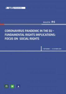 Coronavirus report cover