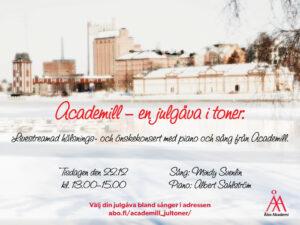 Academill - en julgåva i toner