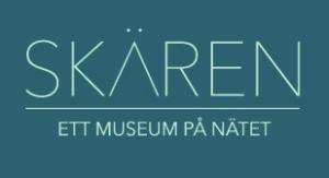 Logo med texten Skären ett museum på nätet.