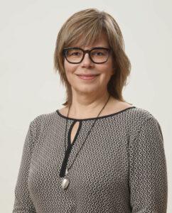 Porträttbild av Ann-Catrin Östman