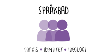 Logo för forskningsprojektet Samverkan mellan språklig praxis, flerspråkig identitet och språkideologi.