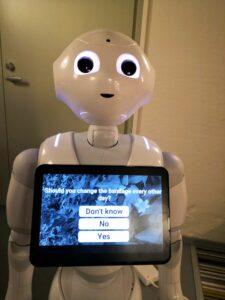 Roboten pepper InnoCare