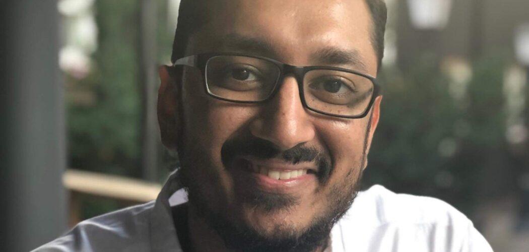 Porträtt av Nitin Agrawal