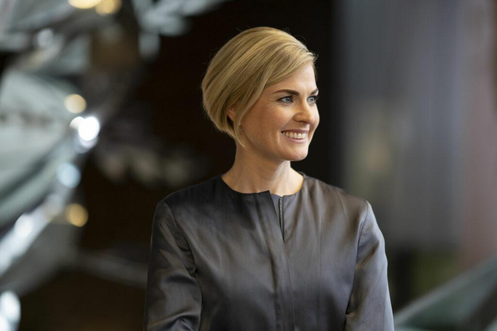 Porträttfoto på Anna Romberg.
