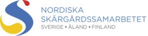Logo för Nordiska skärgårdssamarbetet. Sverige, Åland, Finland.