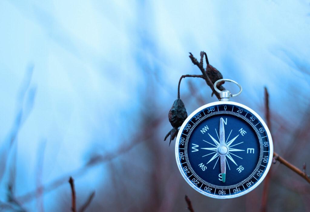 Bild av en kompass.