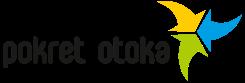 Logo with text Pokret Otoka.