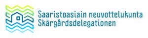 Logo: Saaristoasiain neuvottelukunta - Skärgårdsdelegationen.