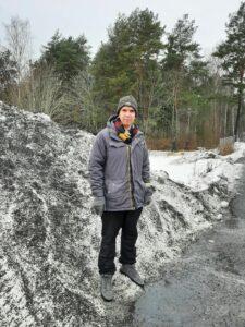 Mats Wickström utomhus