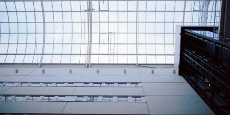 Biocity glass roof.