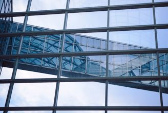 Fönster i Biocity.