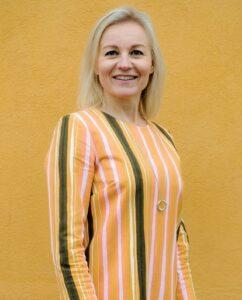 Portrait picture of Maria Laamanen
