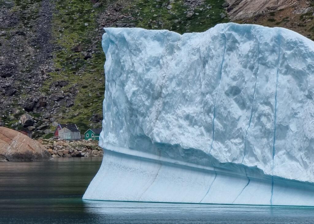 Isberg utanför Grönlands västkust.