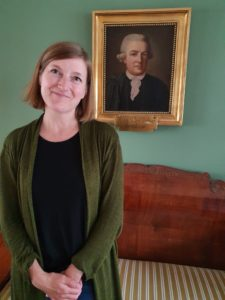 Porträttbild på Yrsa Neuman